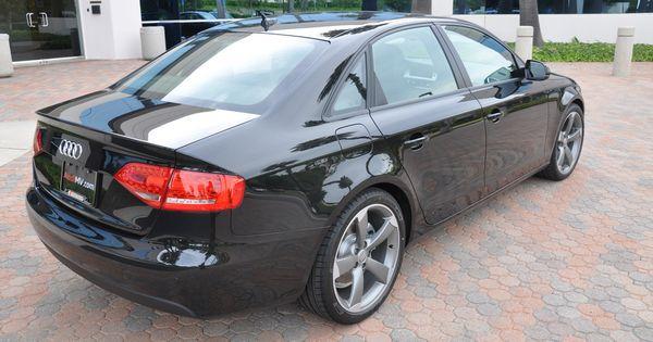 2011 Audi A4 K2 Black Edition Audi A4 Audi Audi 2017