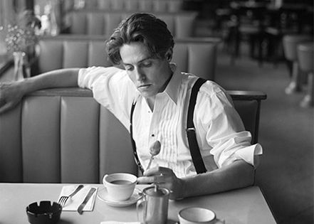 Hugh Grant photographed by Gordon Parks.