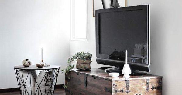 15 ideas para decorar con ba les antiguos ba l antiguo - Baules para decorar ...
