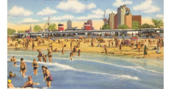 Pin On Just A Vintage Beach Scene
