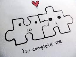 Tu Eres La Pieza Que Completa Mi Puzzle En 2019 Dibujos