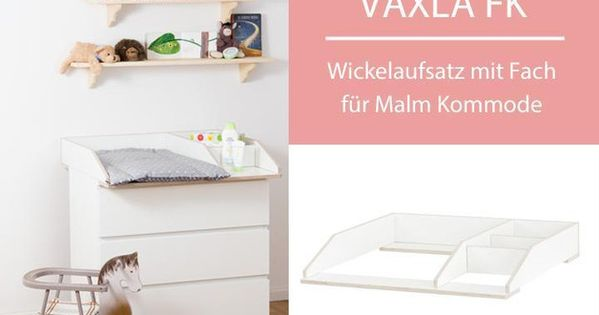 wickelaufsatz mit fach f r ikea malm kommode k w malm and ikea. Black Bedroom Furniture Sets. Home Design Ideas