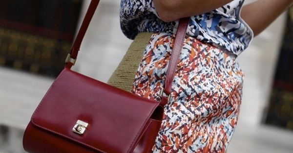 mixed prints, shoulder bag