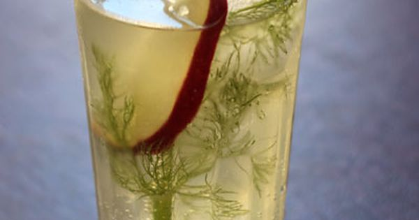 Fennel Apple Spritzer | Drinks, Fennel and Sparklers