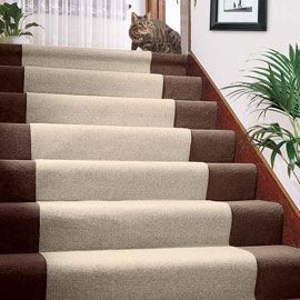 Stay Put Carpet Cover Just Roll Out This Lightweight Runner To Protect Carpeting From Dirt And Wear And Tear Mac How To Clean Carpet Diy Stairs Carpet Cover