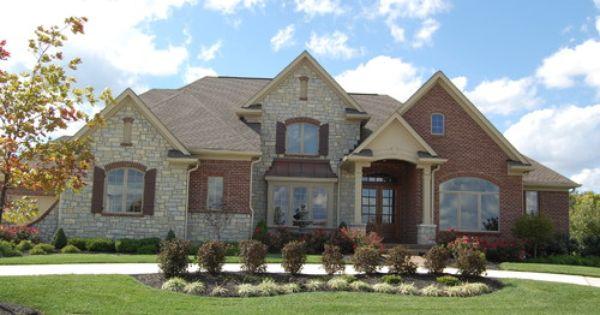 J Custom Homes Traditional Exterior Home Ideas