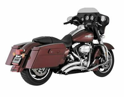 Advertisement Ebay Vance Hines 26042 Big Radius 2 Into 2 Chrome In 2020 Harley Davidson Touring Harley Davidson Exhaust Harley Davidson