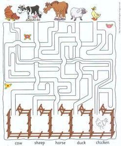 Farm Animal Worksheets For Kids Farm Worksheet Pinterest Kid