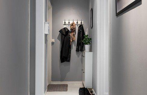 Peinture matte pour le couloir id es deco pinterest - Couleur couloir appartement ...