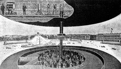 1900 Louis Lumiere Depose Le Brevet Du Photorama Institut Lumiere Lumiere Paysage