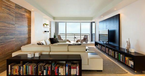wohnzimmer einrichten - modern und elegant in hellen und dunklen, Wohnzimmer