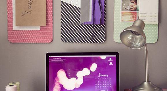 Decoraciones para tu escritorio que te quitar n la flojera for Decorar habitacion residencia universitaria