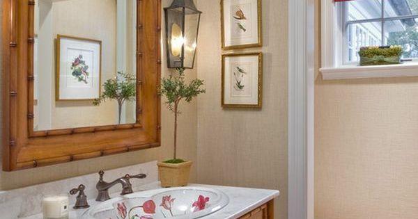 wandspiegel waschbecken unterschrank bambus badezimmer. Black Bedroom Furniture Sets. Home Design Ideas
