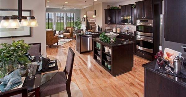 light floor dark cabinets home pinterest lights kitchens and condos. Black Bedroom Furniture Sets. Home Design Ideas