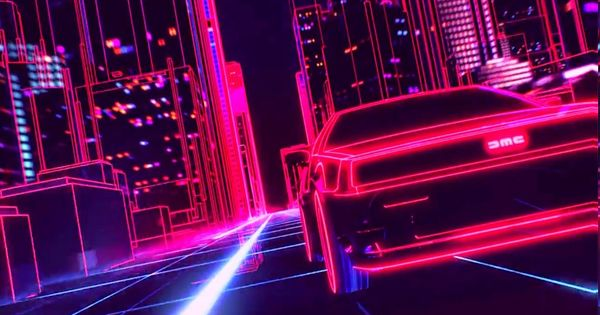 Download Hd Wallpapers Of 298023 New Retro Wave Synthwave 1980s Neon Delorean Car Retro Games Free Download Synthwave Retro Waves Retro Games Wallpaper