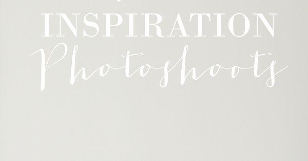 7 Ways To Use Inspiration Photoshoots