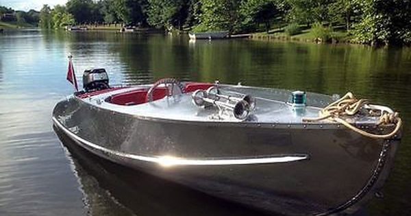 Pin By G8r On Aluminum Boats Aluminum Boat Boat Vintage Boats