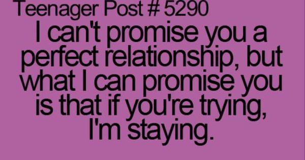 Relationship stuff!
