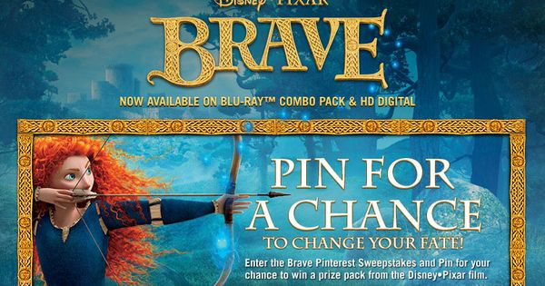 Pin for your chance to win a Brave Holiday Gift Pack: http://di.sn/g6L