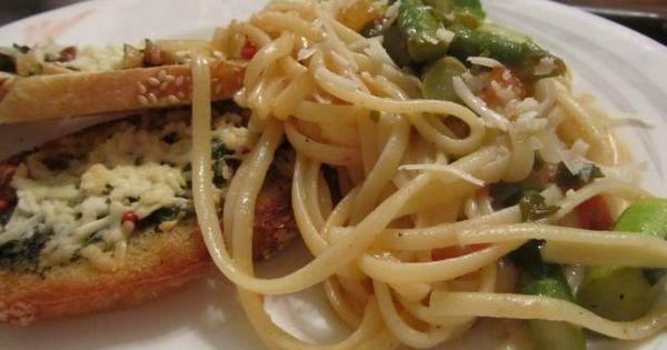 Le Cirque's Linguine With Asparagus   Recipe   Linguine, Asparagus and ...