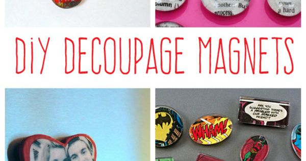 Decoupage magnets you can make decoupage magnets and ebay - What you can do with magnets ...