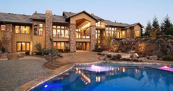 Nice Houses With Pools | Home | Pinterest | Big beautiful houses, Big houses and Nice houses