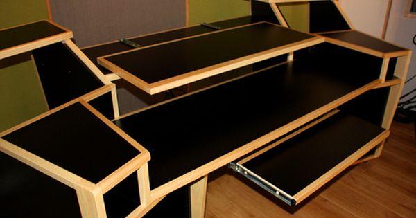az vista studio workstaiton desk - Home Studio Desk Design