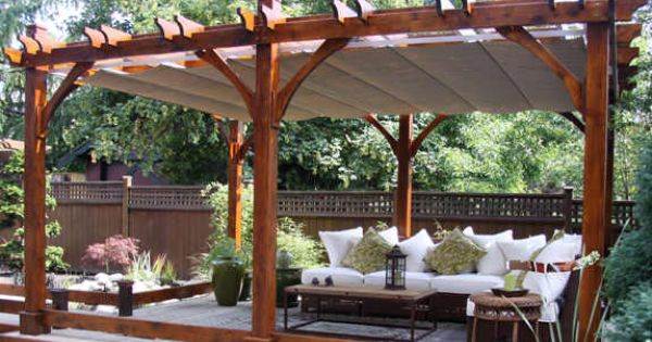 Outdoor Living Today 12x16 Breeze Pergola Retractable Canopy Free Shipping Dream Home
