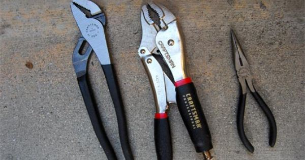 10 Tools Every Man Should Have Tools Pliers Man