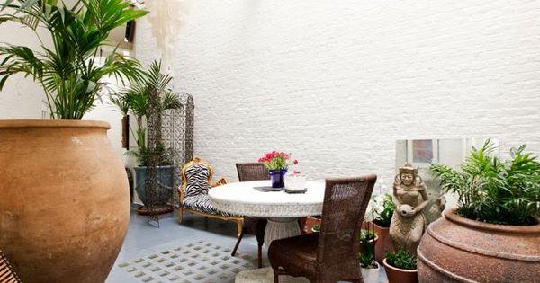Patios interiores modernos peque os buscar con google patios internos pinterest decorar - Decorar patios interiores ...