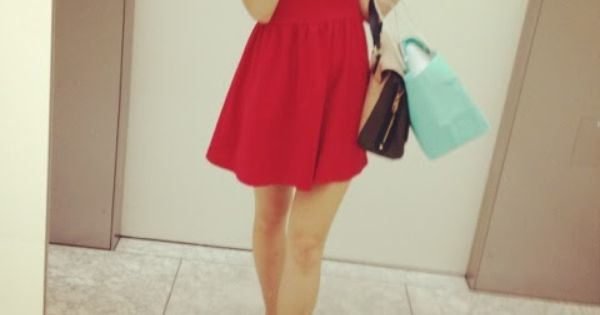 Red and dresses on pinterest
