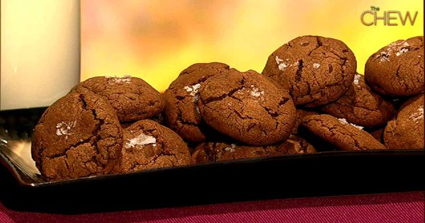 Michael Symon's Chocolate Chocolate Chip Cookies with Sea Salt recipe. thechew Best