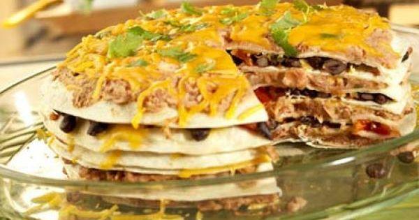 Tortilla pie, Tortillas and Pies on Pinterest