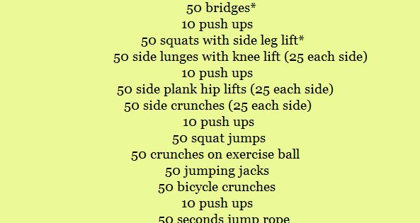 Burning Leg and Abs Workout