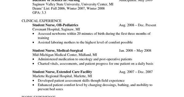nurse resume templates