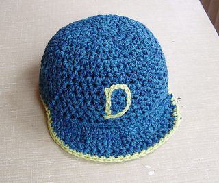 Fits Head Size 16 5 17 5 Inches Notes Are Given For Adjusting Size Takes About 1 2 Ske Crochet Baby Cap Crochet Baseball Hat Baby Crochet Baby Hat Patterns