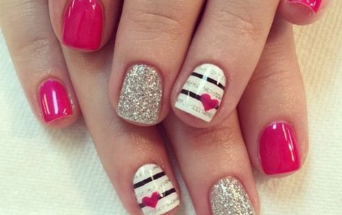 50 Valentines Day Manicures To Fall Madly In Love With