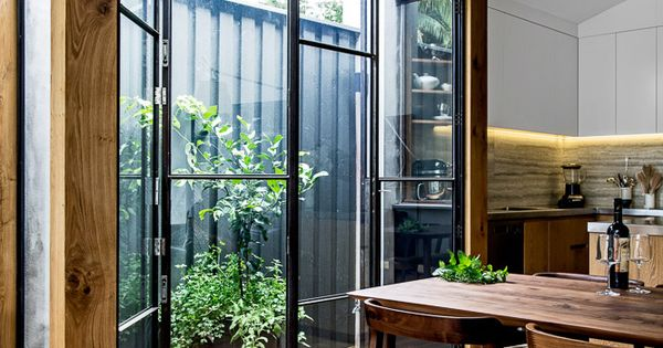 Terrace house in paddington via for Sunroom extensions sydney
