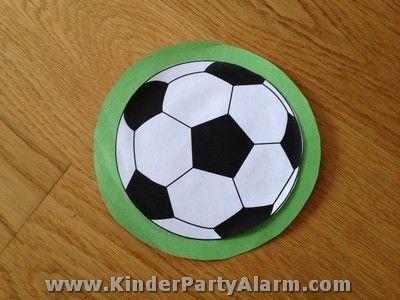 fußball kindergeburtstag einladung | fußball-geburtstag, Einladung