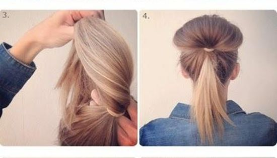 This is by FAR my favorite, quick & easy up-do! Been doing
