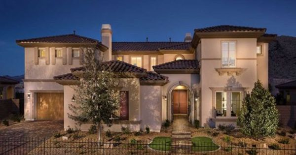 Sw Las Vegas Southern Highlands The Masters Collection A Collection Of Luxury Homes With Guard Gated Access In New Homes Las Vegas Luxury New Homes For Sale