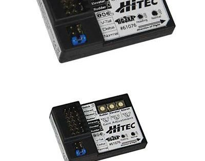 Hitec HG3XA 3-Axis Airplane Stabilization Gyro System HRC61076