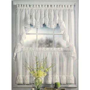 Vienna Eyelet Kitchen Curtains Kitchen Curtains Curtains Simple Curtains