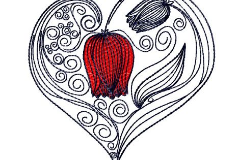 Double Heart Templates Google Search 2 Hearts Love