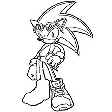 Print Coloring Image Momjunction Coloring Pages Sonic Free Riders Coloring Contest
