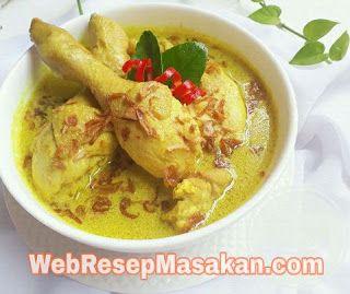 Opor Ayam Kuning Resep Memasak Resep Masakan