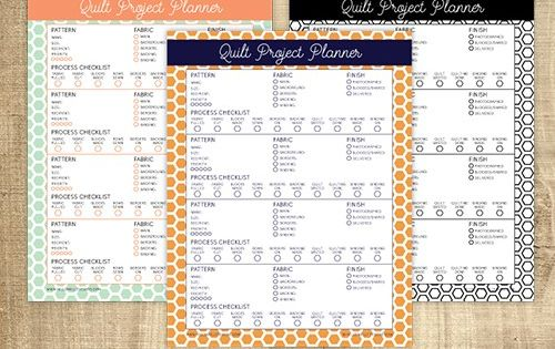 Free Printable Quilt Planner Organize Your Quilt Projects