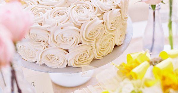 rosette wedding cake,my dream wedding cake;)