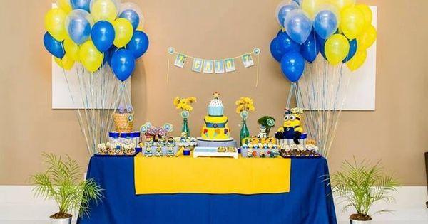 Fiesta de cumplea os minions ideas originales y - Tematicas para fiestas de cumpleanos ...