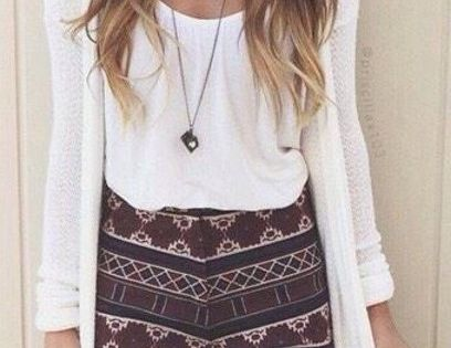 Tribal shorts- summer fashion